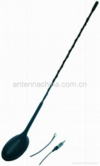 Car Antenna with front roof position