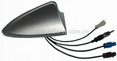 Car Antenna with shark fin shape