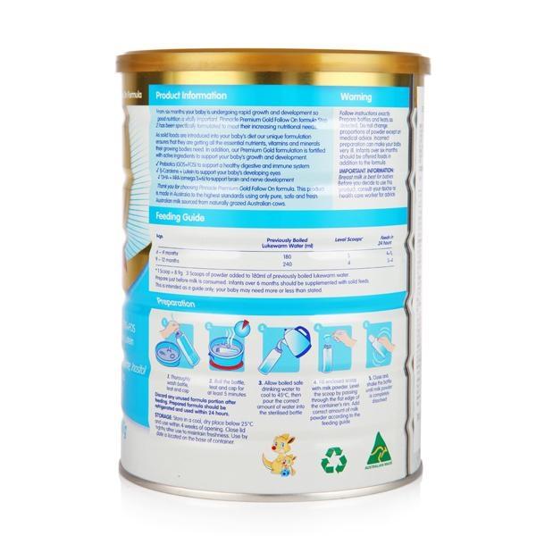 沛沛澳嬰幼儿奶粉2段(6-12個月) 2