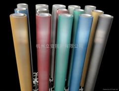 杭州立安彩色反光布