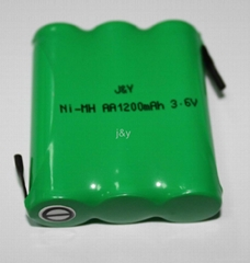 ni-mh   AA 1200mah 3.6V  rechargeable  battery