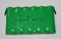 ni-mh   AA 600--2400mah 1.2V  rechargeable  battery