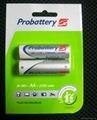 ni-mh   AA 2600mah 1.2V  rechargeable  battery  3