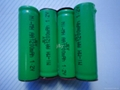 ni-mh   AA 600--2400mah 1.2V  rechargeable  battery  3