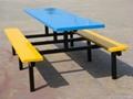 玻璃鋼餐桌椅 3