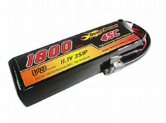 Lipo battery for RC Helicopter