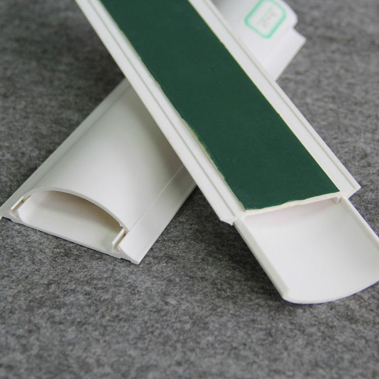 Pvc trunking plastic channels cable through gnt g n