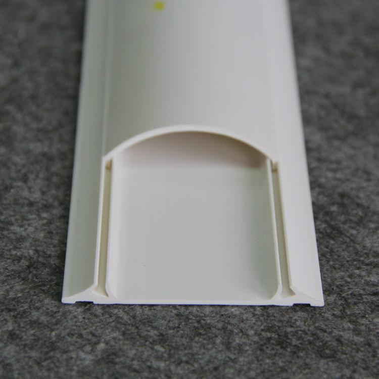 Pvc Floor Arc Trunking Wire Casing Arc Wiring Duct Gnt02