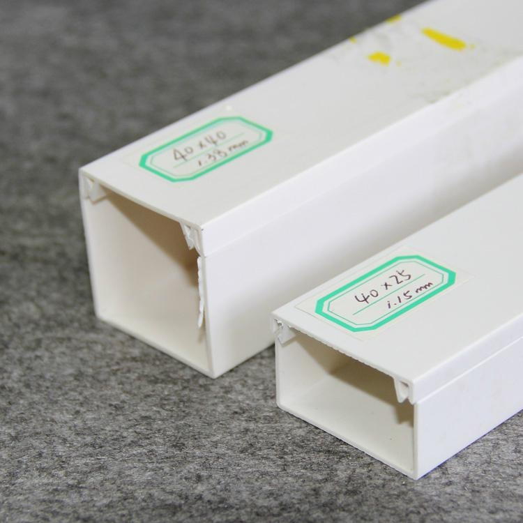 Cable Trunking Product : Pvc cable trunking channels wiring duct manufacturer
