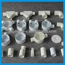 Electrical plastic pvc pipe fittings