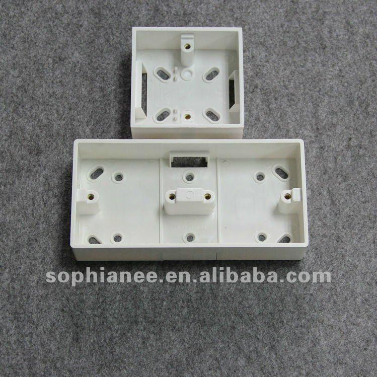 Plastic PVC switch box Junction box Pattress box - GNP06 - G&N or ...