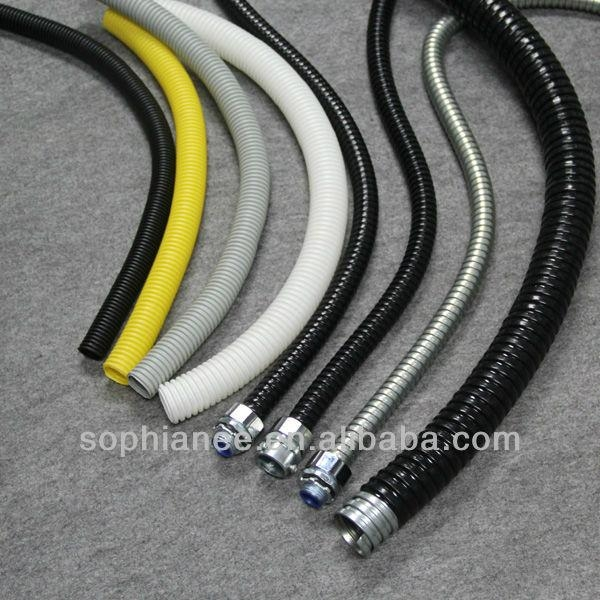 Pvc Cover Or Coated Metal Flexible Corrugated Hose Gnf03