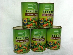 Canned Mixed Vegetables/Canned Peas&Carrot/Canned Food
