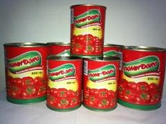 Canned Tomato Paste/Tinned Tomato Paste