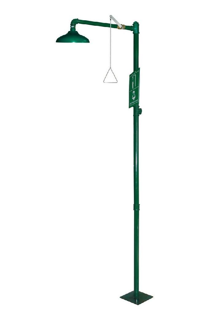 Free Standing Galvanized Steel Safety Shower - C100 - Terysafe ...