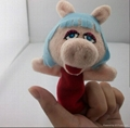 plush baby& kids funny finger puppet animal toys 2
