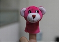 plush baby& kids funny finger puppet animal toys 4