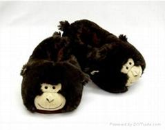 plush kids& Adult slipper