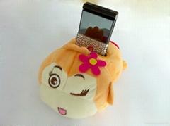 plush cellphone seat
