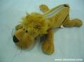 plush pencil animal dog pencial case