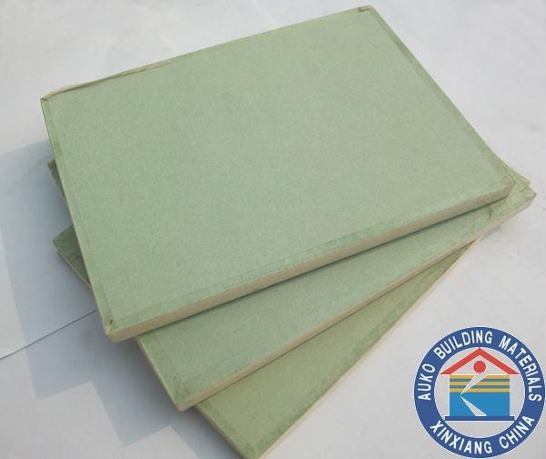 Firecore Moisture Resistant Gyp Board : Moisture resistant gypsum board auko china