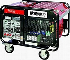 汽油發電電焊機
