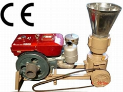 Flat-die pellet mill for energy sources with CE for sale