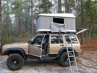 Hard Top Roof Tent --Tallsnail 1