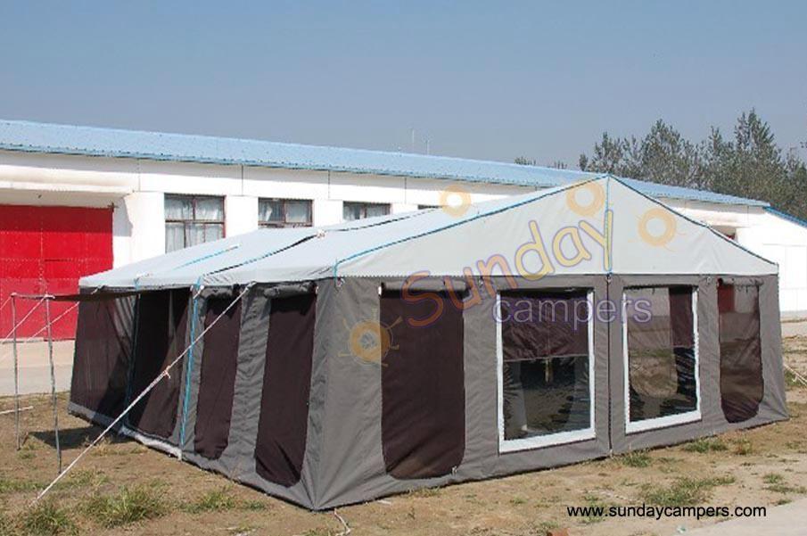 Camper Trailer Tent SC08DA (Double Annex)  2