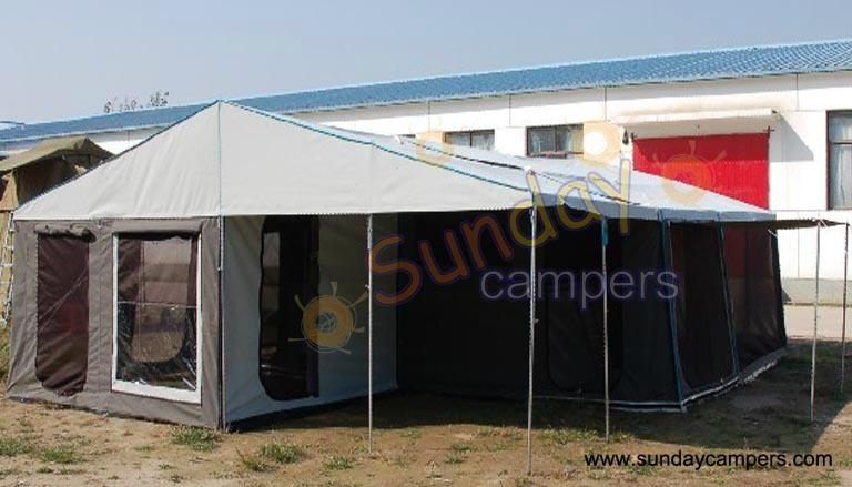 Camper Trailer Tent SC08DA (Double Annex)  3