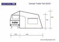 Camper Trailer Tent SC02 (9ft)  4