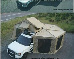 Roof Top Tent with fox awnings