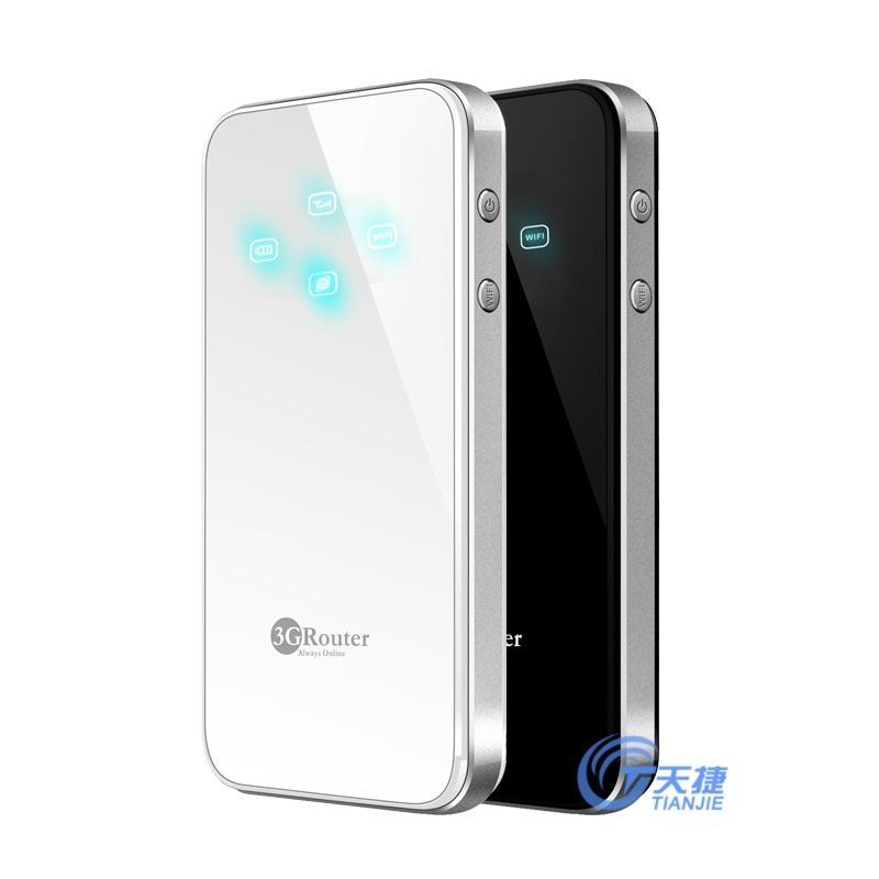 天捷(指示燈款)3G時尚便攜無線路由器 1