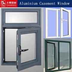 standard painting aluminium casement window system