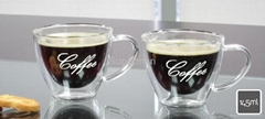 SET 2 DOUBLEWALL COFFEE GLASS