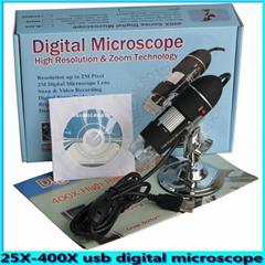 2.0Mega Pixel USB Digital Microscope 400x Zoom SE-M400,with Microscopic measurem
