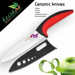 6 inch knife set of zirconia ceramic knife