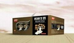 核桃牛奶(慧金苗条砖)12盒可视窗礼品装