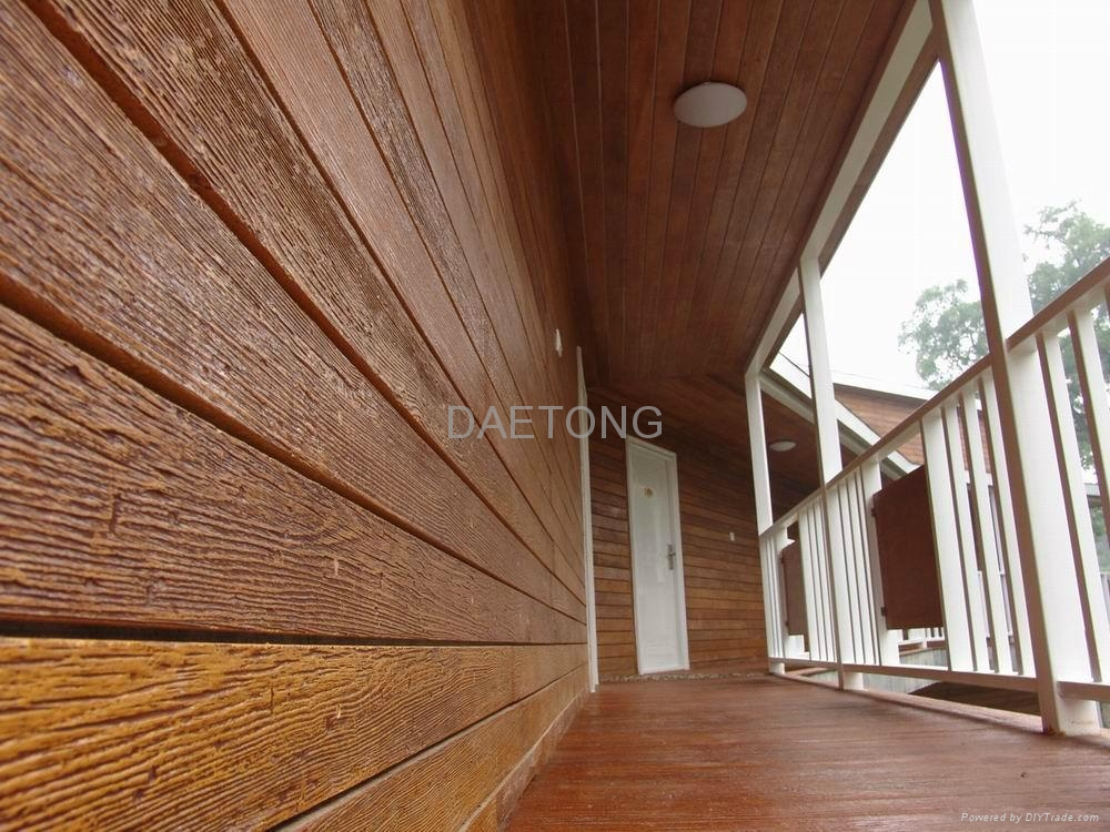 Outdoor wooden wall cladding 16w04b daetong china trading company other decoration Materials for exterior walls