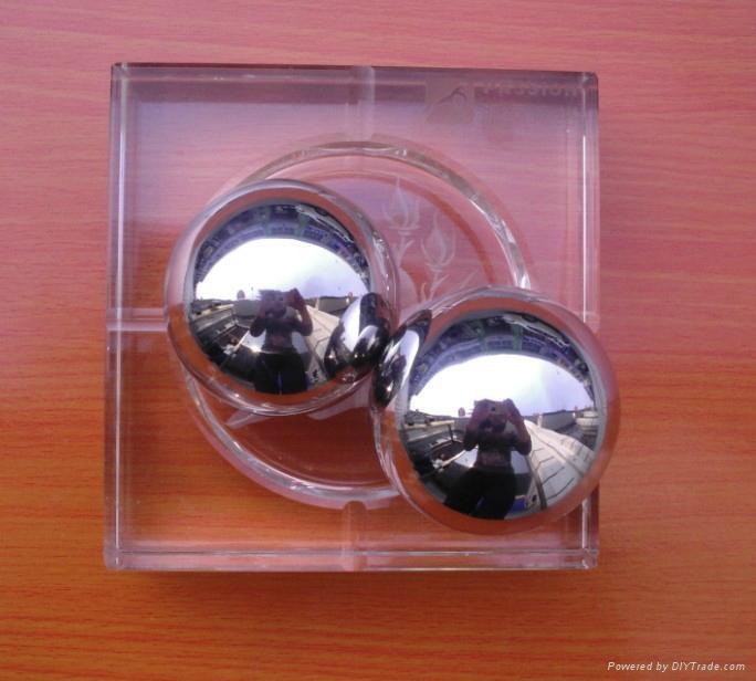 brass ball/copper ball 2
