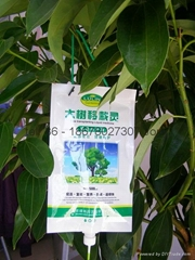 fertilizer liquid bag with spout