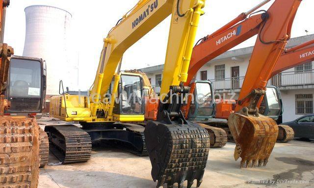 旧小松挖掘机PC200-6 1