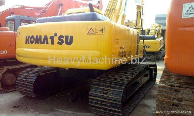 旧小松挖掘机PC200-6 2