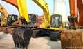 旧小松挖掘机PC200-6 3