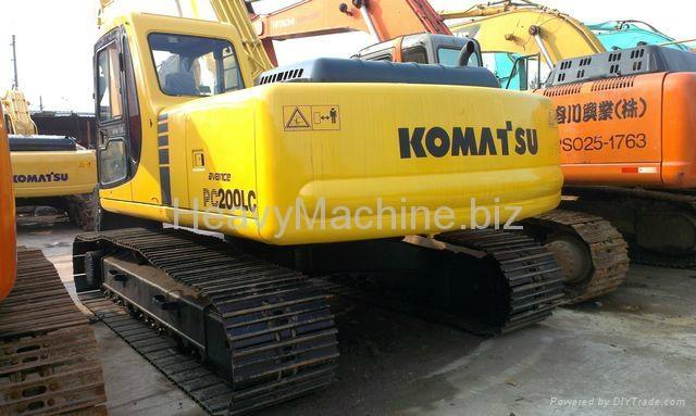 旧小松挖掘机PC200-6 4
