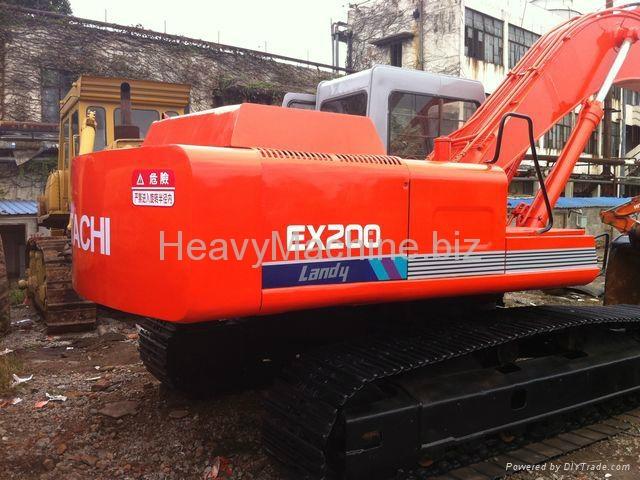 日立挖机 EX200-1 3