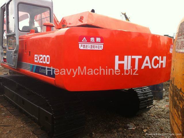日立挖机 EX200-1 4