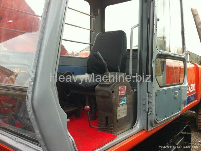 日立挖机 EX200-1 5