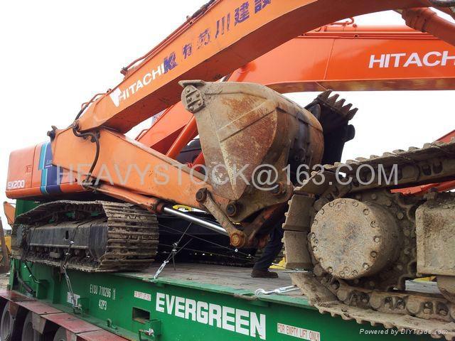 日立挖掘机 EX200-2 1