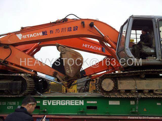 HITACHI EXCAVATOR EX200-2 4